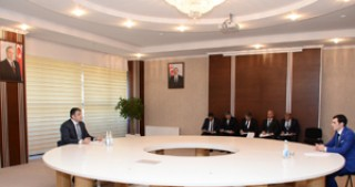 Minister of Communications and High Technologies Ramin Guluzade receives citizens in Neftchala