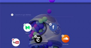 "Opera software shows off ""Neon"", the browser of the future"