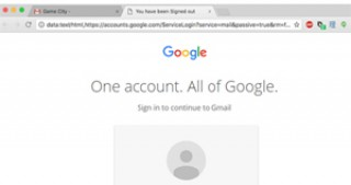 Gmail users targeted in phishing attack