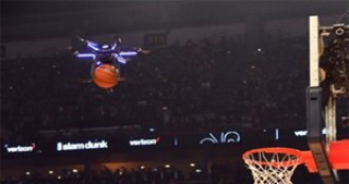 Drone assists in 2017 NBA All-Star Dunk Contest