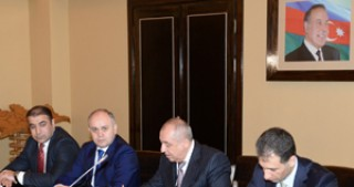 A Memorandum of Understanding was signed between Azercosmos and the Real Estate Cadaster and Address Registry Service under the State Committee on Property Issues