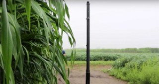 Agricultural robot roams fields to monitor crops and their DNA