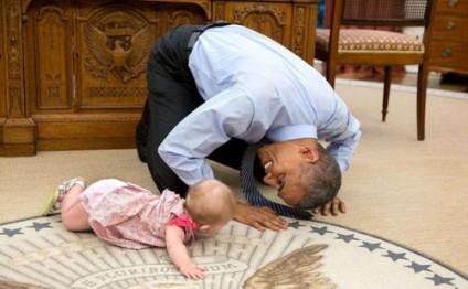 Fotoqrafı Obamanın şəkillərini yaydı - UNİKAL GÖRÜNTÜLƏR