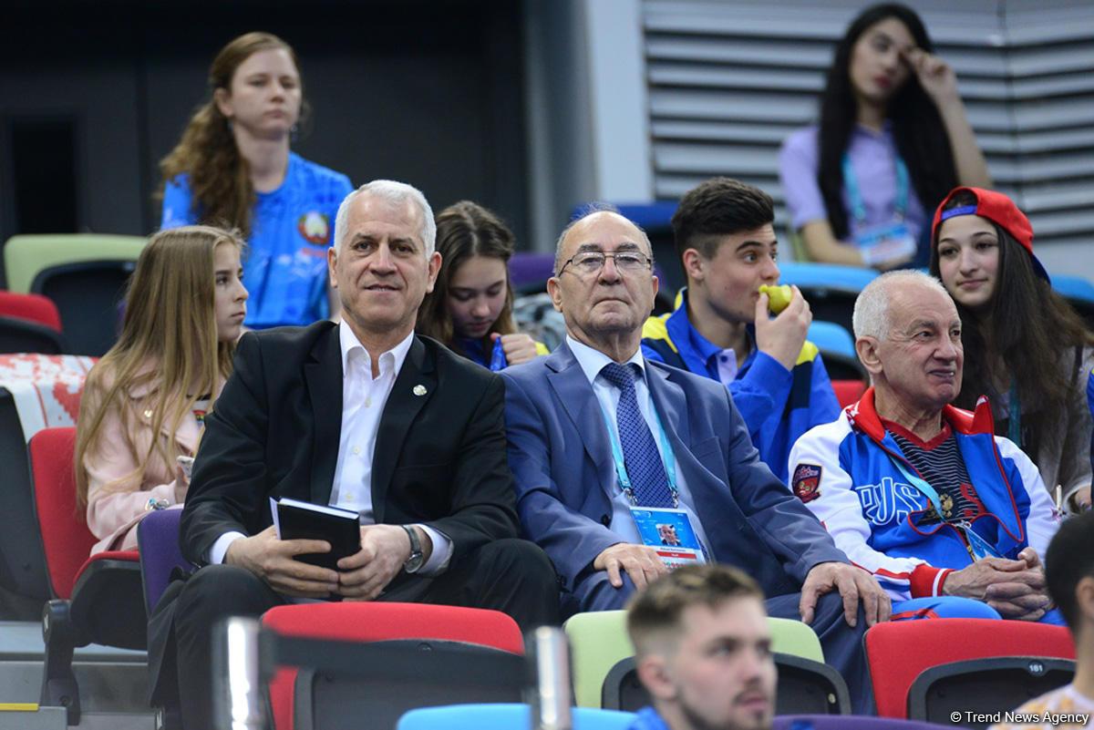 Azərbaycan gimnastı Avropa çempionatının tamblinq yarışlarında finala çıxıb - FOTOLAR