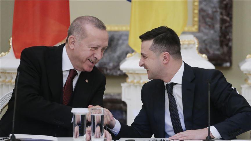 Zelenski Ərdoğanla görüşdən DANIŞDI: Türkiyə Krımın ilhaqını tanımayacaq