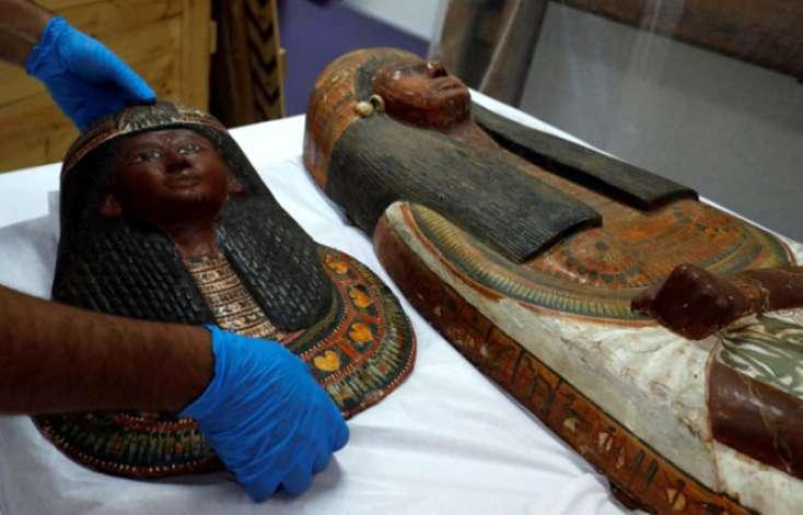 3400 illik mumiya ilk dəfə görüntüləndi