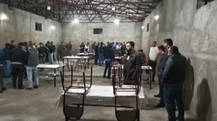 """Bakıda """"Kəlbəcər"""" restoranında karanti qaydalarını pozan şəxslər saxlanıldı"""