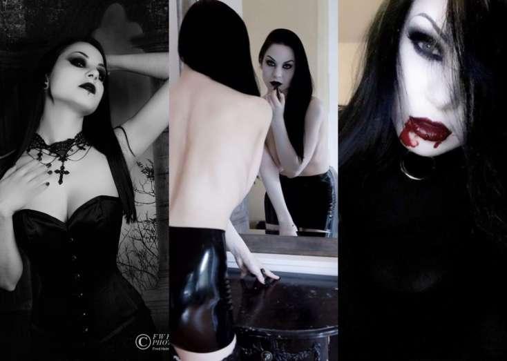 """Vampir qadın görənləri ŞOK EDİR: """"Dəridə kiçik bir kəsik açırıq, hər insanın qanı..."""" - FOTOLAR"""