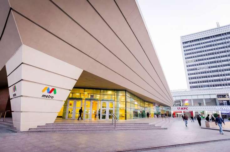 İki metro stansiyanın girişi açıldı