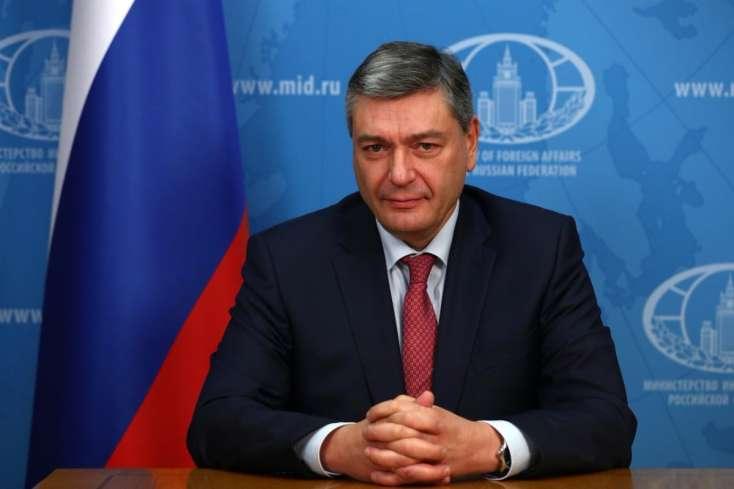 Rusiya Xarici İşlər nazirinin müavini Polad Bülbüloğlu ilə görüşüb