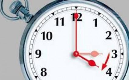 Saatlar irəli çəkildi?