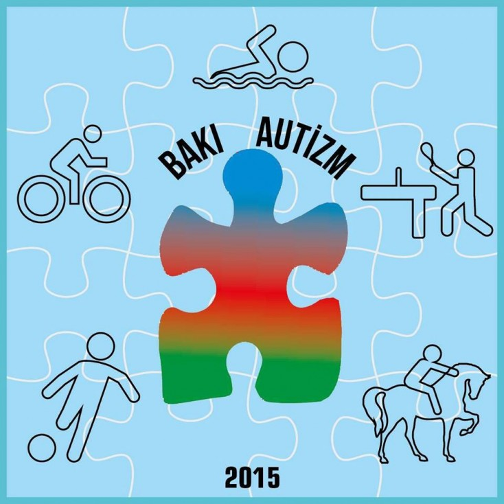 Autizm sindromlu uşaqlar arasında stolüstü tennis yarışı