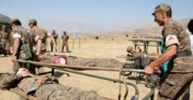 Ermənistan ordusu bir-birini qırır - Yaralılar var