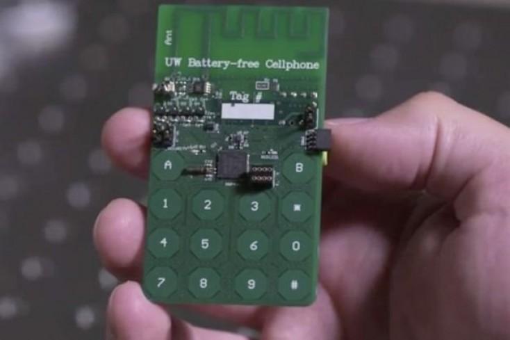 Dünyada ilk akkumulyatorsuz telefon