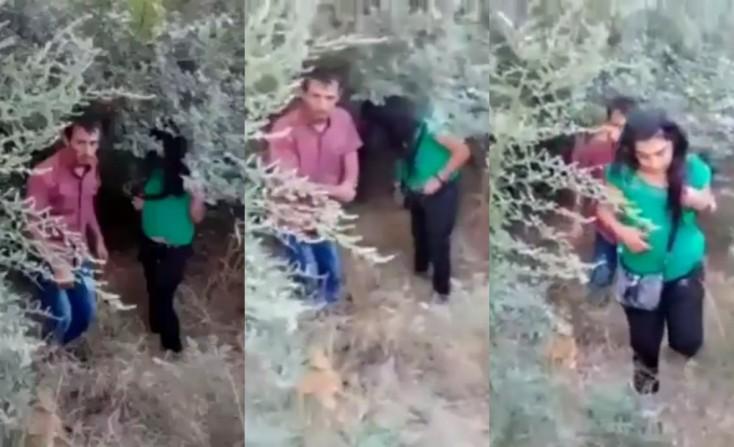 VİDEO: Arvadını yad kişi ilə qəbristanlıqda yaxaladı və... - O görüntülər...