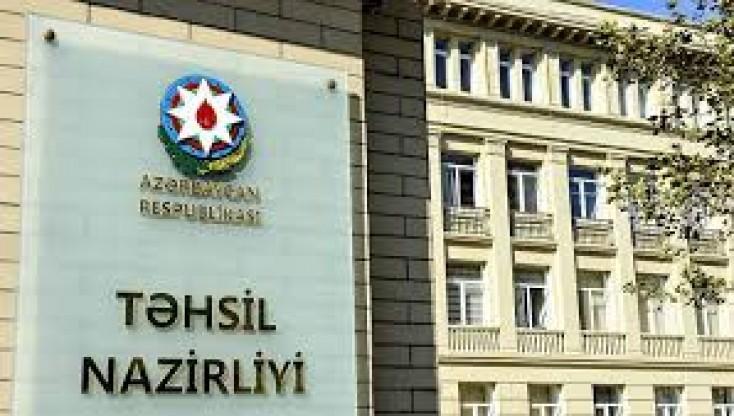 Təhsil  Nazirliyi avqust ayı üzrə olunan   müraciətlərin  statistikasın açıqladı