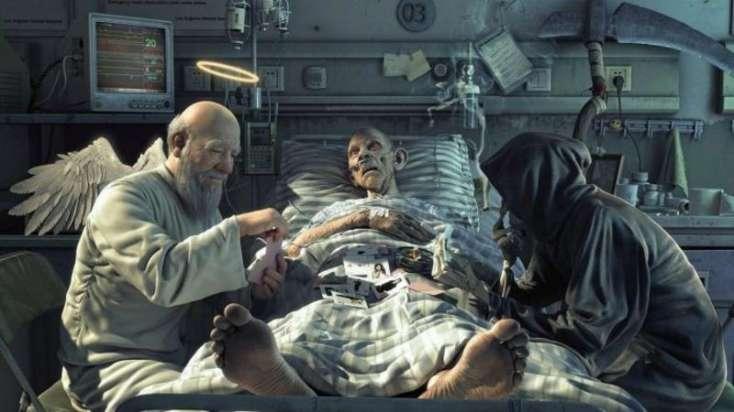 Ölüm zamanı İNSANIN BAŞINA GƏLƏNLƏR - DƏHŞƏT / VİDEO