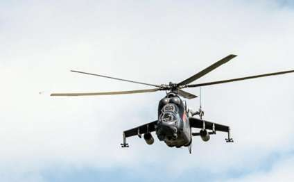 Rusiya helikopteri Suriyada qəzaya uğradı - Sağ qalan olmadı
