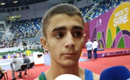 EYOF-da birinci olan güləşçilər: Əsas hədəf dünya çempionatında qızıl medal qazanmaqdır