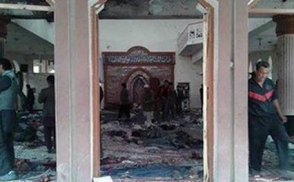 Kabulda məsciddə partlayış olub, 27 nəfər ölüb, 35 nəfər yaralanıb