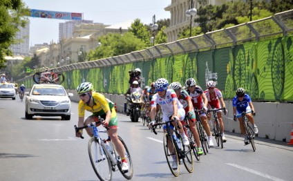 Baku 2015: Men's cycling event kicks off