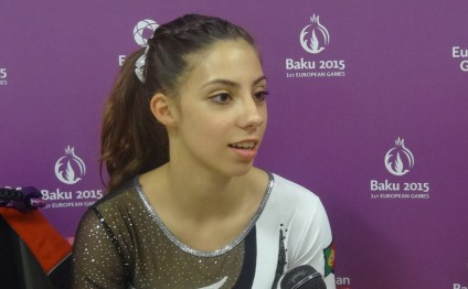 European Games – great opportunity for athletes to gain experience, says Portuguese gymnast