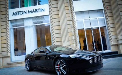 "Aston Martin hosts event in Baku dedicated to ""Spectre"" film premiere"