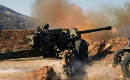 Syrian army shells terrorist command centers near Jordan border