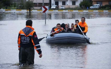 Mudflows in Turkey claim two lives