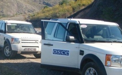 No incident during OSCE monitoring on Azerbaijani, Armenian armies' contact line