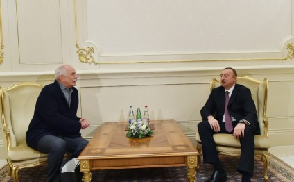 President Ilham Aliyev received the chairman of the Russian Cinematographers Union