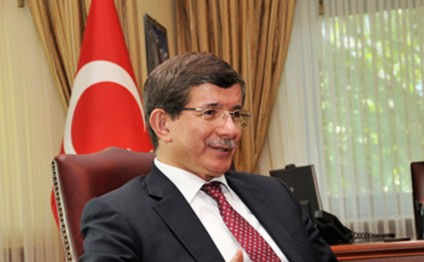 Turkey in Iraq to promote stability, Davutoglu says