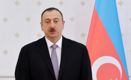 President Aliyev visits exhibition centre of Huawei in Beijing