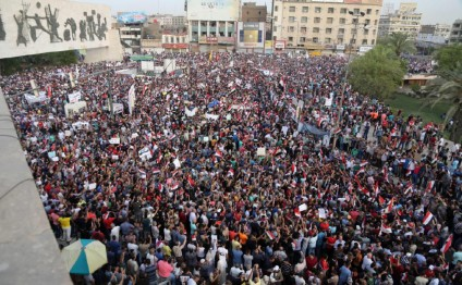 Thousands of Iraqis in Baghdad, Basra protest Turkish deployment in north