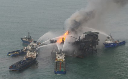 Azerbaijan establishes working group against possible oil spills in Caspian Sea