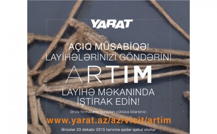 YARAT Contemporary Art Space calls Azerbaijani artists to participate in grassroots arts initiatives project