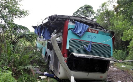Bus crash leaves 13 dead in Mexico