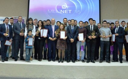 Winners of MilliNet award supported by Azercell announced