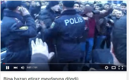 False footage about protest in Azerbaijani shopping center spread in social networks (PHOTO)