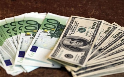 US dollar, euro rise in Azerbaijan