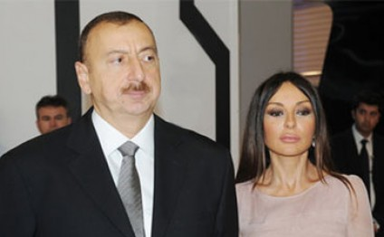 President Aliyev, his spouse attends opening of residential building for visually impaired people