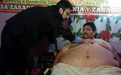 World's fattest man dies on Christmas Day