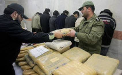 Over 422 tons of drugs seized in Iran in 8 months