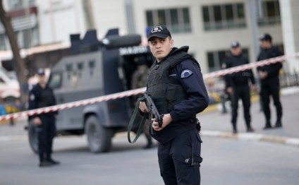 Four policemen injured amid unrest in Turkey