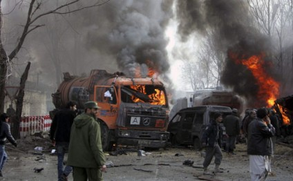 Suicide bomber blows himself up near Kabul airport: police