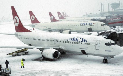 Turkish Airlines canceles 84 flights