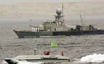 IRGC confirms detention of 2 US navy boats, arrest of 10 sailors