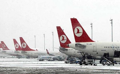 Baku-Istanbul flights cancelled due to bad weather