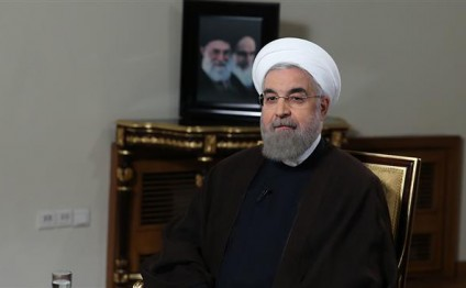 Rouhani congratulates people on sanctions removal