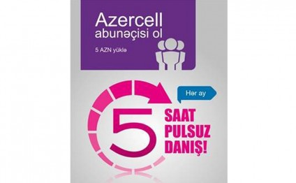 Azercell extends 'Join Azercell and get 5 hours for calls!' campaign